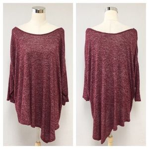 ➕ a.n.a Burgundy Tunic Top 8L